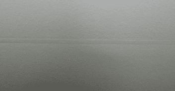 Bild einer Materialnaht einer Gain 18 Hellraumleinwand