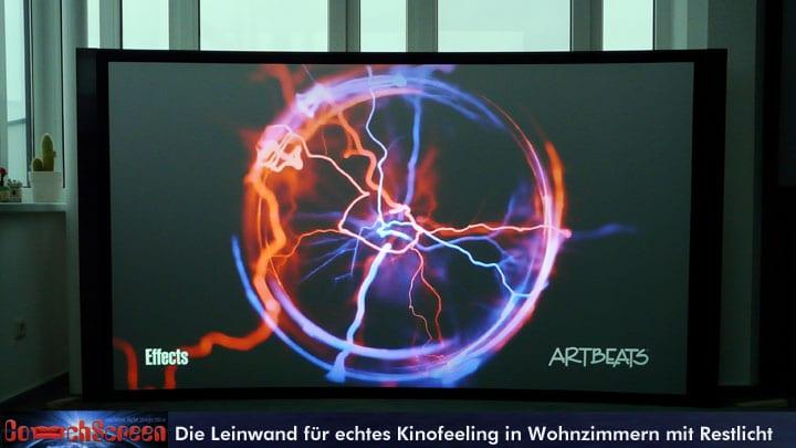It medientechnik veranstaltungstechnik konferenztechnik - Couchscreen leinwand ...