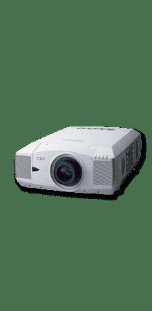 Der Sanyo PLC XF45 LCD XGA Projektor ist für Veranstaltungen und Ausstellungen gedacht.
