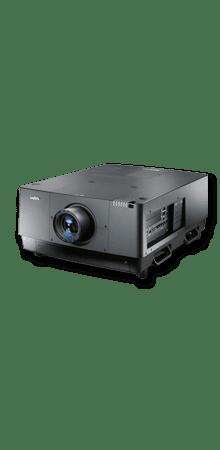 2K 15.000 ANSI Lumen FullHD LCD Projektor in Kombination mit Hellraumleinwand für Tageslichtprojektion