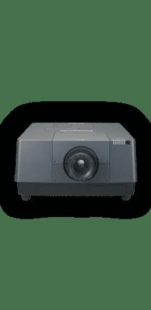 16.000 ANSI Lumen LCD XGA Hochleistungsprojektor in Kombination mit Hellraumleinwand für Tageslichtprojektion