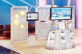 Plasma und LCD Monitore beim VDE im Messeeinsatz