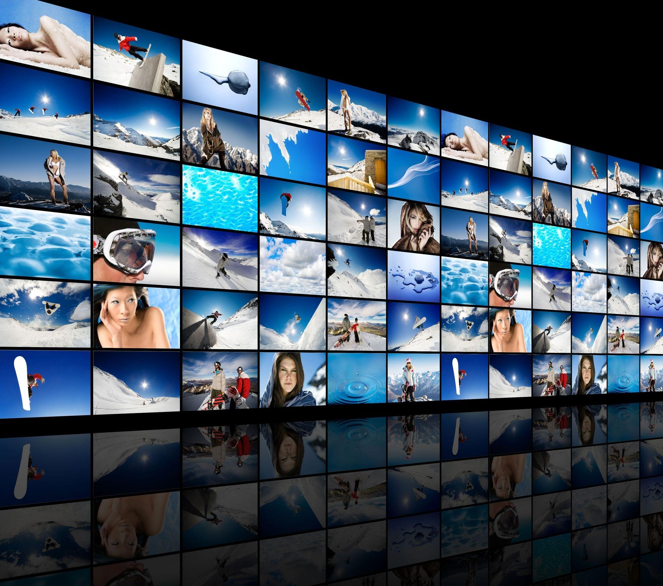 Displaywand - Videowand - Videowall