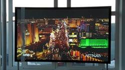 CouchScreen Leinwände ermöglichen am Tag wie bei Nacht eine bis zu 13-fach kontrastreichere Darstellung wie herkömmliche Leinwände,