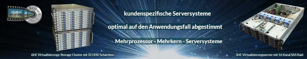 Datacenter, Storage, Server und Cloud Lösungen