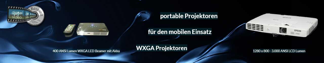 kompakte portable Projektoren für mobile Nutzungen