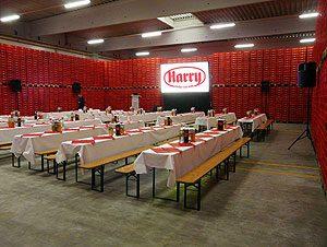 Tageslichtprojektion für eine Betriebsratssitzung bei Harry Brot in Schenefeld