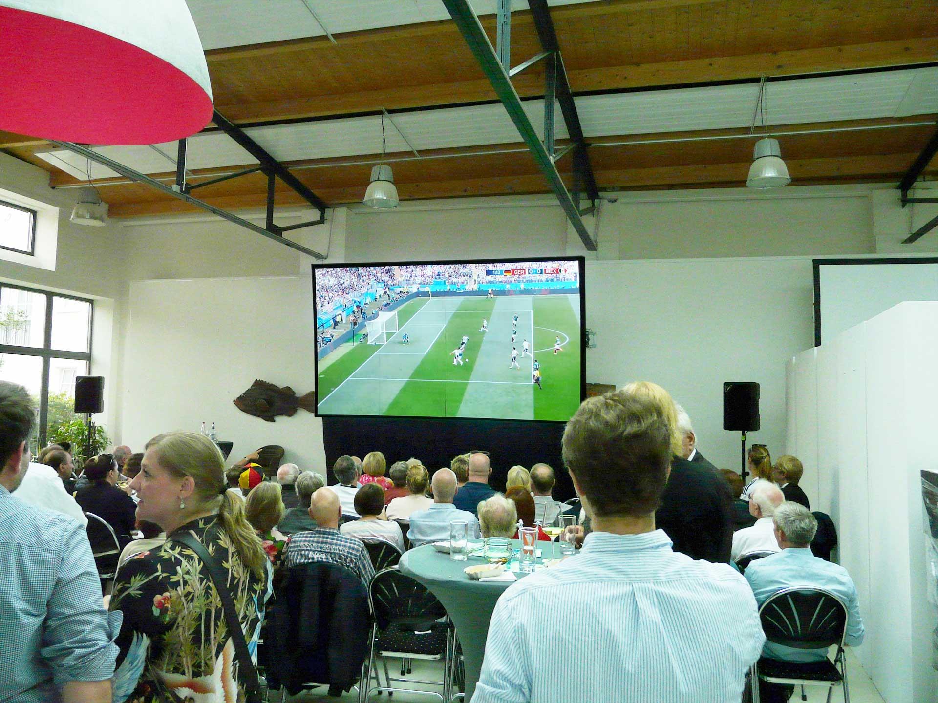 WM Public Viewing 2018 Deutschland vs. Mexico für die CDU Blankenese
