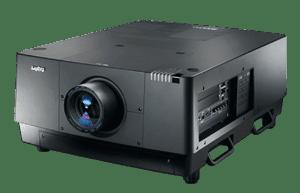 Der Sanyo PLC-HF15000L 2K LCD 15.000 ANSI Lumen Hochleistungsprojektor ist in Kombination mit Gain 26 Hellraumleinwänden als Tageslichtprojektor verwendbar.
